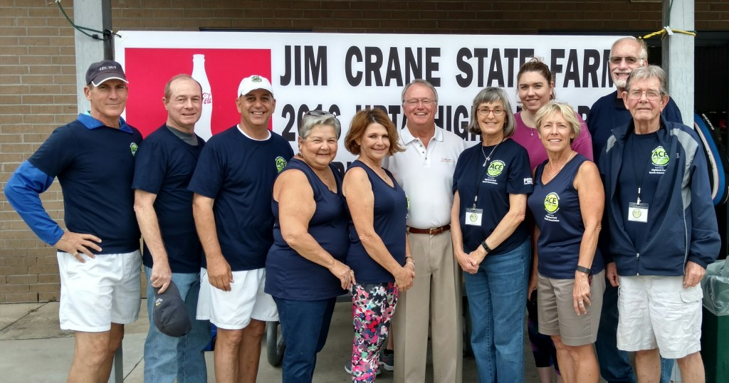 "2016 ""HOTT Team"" members (l-r): Gary Mollere, Mike Fournet, Rusty Jabour, Joycelyn LeBlanc, Sandra Harshbarger, Jim Crane, Lisa Sanner, Erin Achberger, Wendy Parrish, Fred Aldrich, and Michael Doyle."