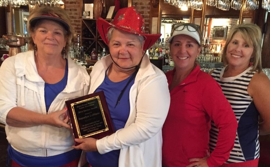 Joycelyn LeBlanc receives 2016 BRWTA Service Award